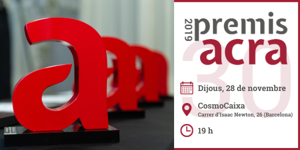 Premis ACRA 2019 Save The Date