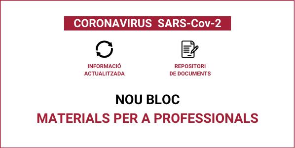 coronavirus bloc materials