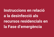 instruccions desinfecció